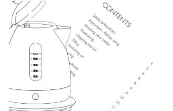 New Kettle Instructions - Do it Right, Helpful Guide with