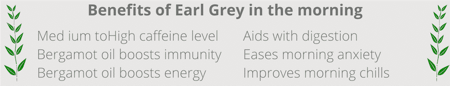 benefits of drinking earl grey in the morning