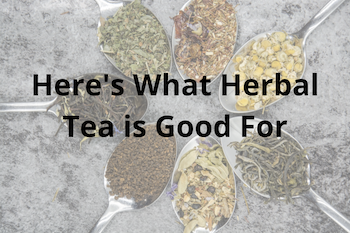 what is herbal tea good for