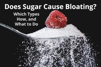 does sugar cause bloating